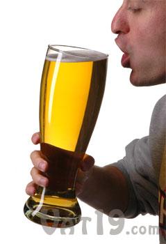 Big German Beer Glass