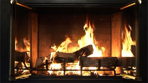 Ambient Fire DVD: Turn your TV into a wood-burning fireplace (shot in HD!)