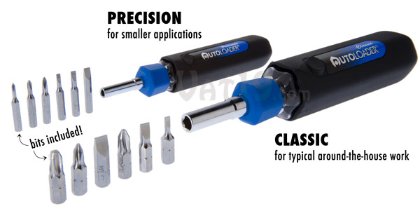The AutoLoader is available in two styles: Precision and Classic.