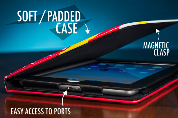 Back to the Future II iPad Case is an officially licensed iPad case.