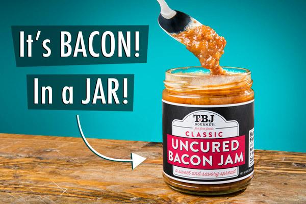 It's Bacon... in a Jar!