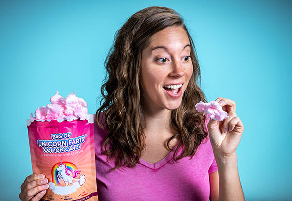 Delicious bag of unicorn farts