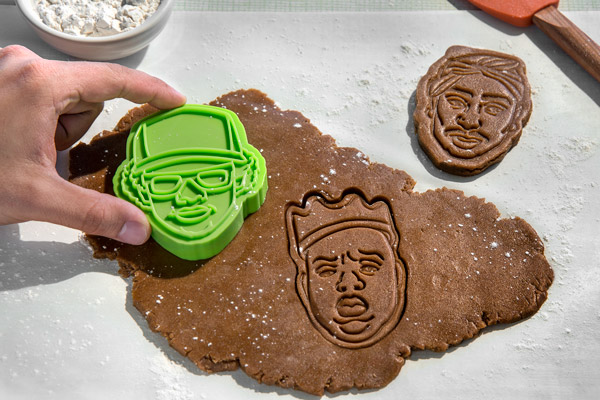 Its A 3 Pac Of Hip Hop Cookie Stamps