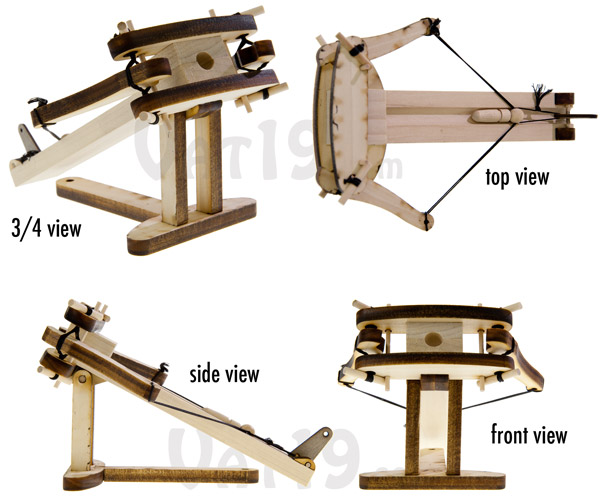 Diy Wooden Ballista Kit Create Your Own Model Of Roman Artillery
