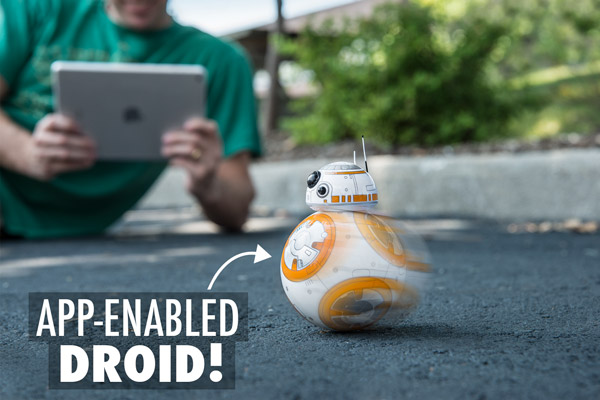 App-enabled Droid!