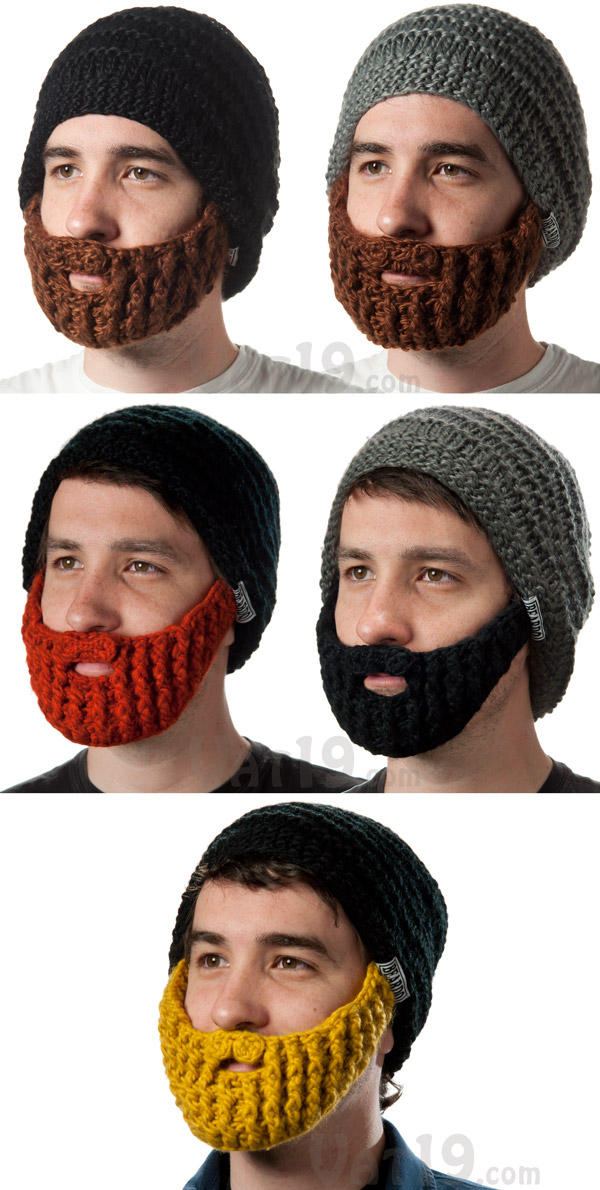 9db2972383461 The Beardo Beard Hat is currently available in five styles.