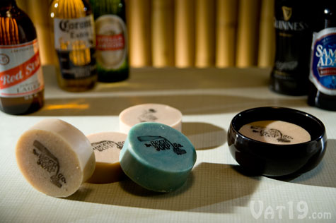Beer Soap is made from real beer in the USA