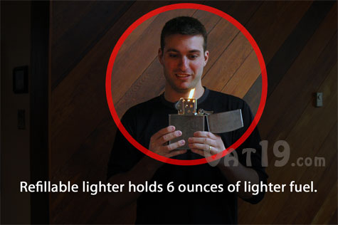 Big Daddy Jumbo Lighter is huge lighter that is refillable