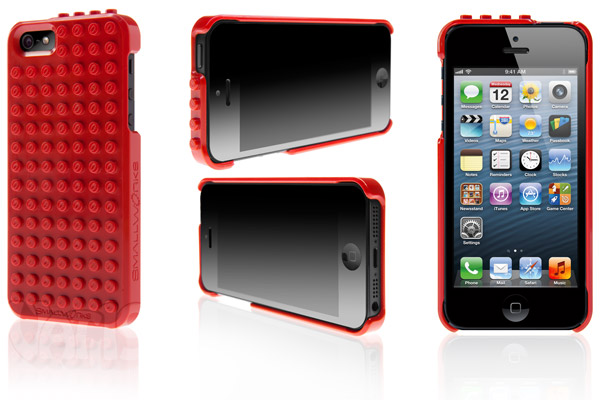 The Brickcase iPhone case from multiple angles.