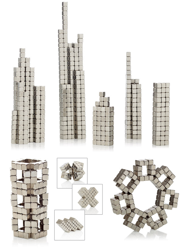 Use BuckyCubes to build cool structures.