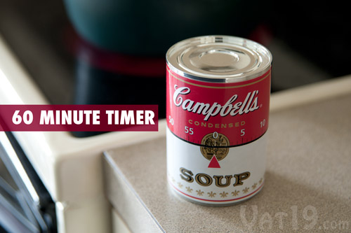 Incroyable Campbellu0027s Soup Kitchen Timer