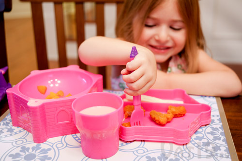 Castle Dinner Set makes mealtime fun time!