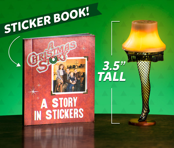 Includes Christmas Story sticker book