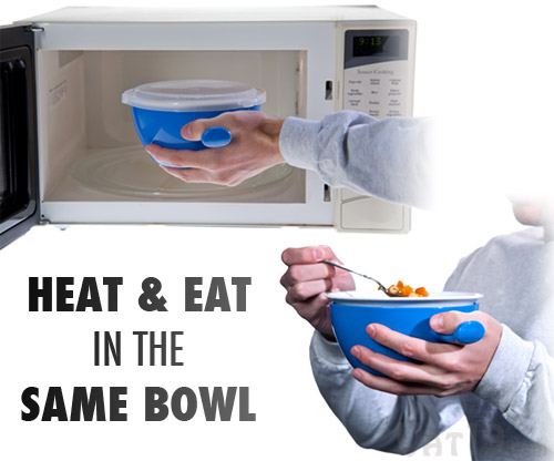 Cool Touch Microwave Bowl Heat And Eat