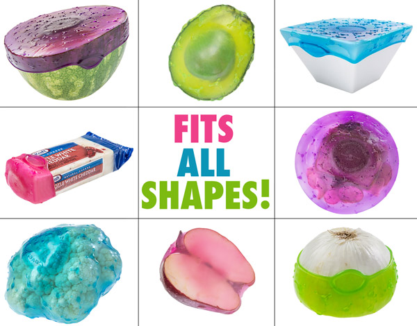 Cover Blubber being used on a variety of shapes and sizes.