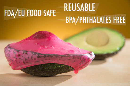 Cover Blubber is an FDA and EU food safe material.