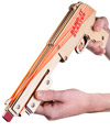 Pump-Action Rubber Band Shotgun
