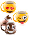 Emo-Gees Emoji Coffee Mugs