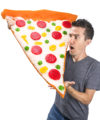 Gigantic Gummy Pizza Slice