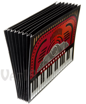 Accordion File Folder Looks Like A Real Accordion