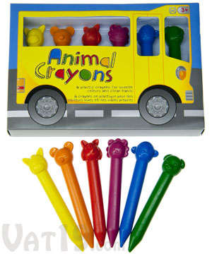 Animal Crayons