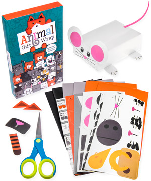 animal gift wrap everything you need to bring your gifts to life
