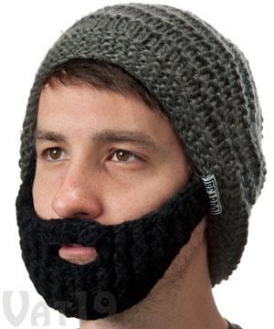 57ec48d2ac7 The Original Beard Hat - Gray   Black