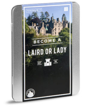 become a laird or lady gift box includes land ownership in scotland