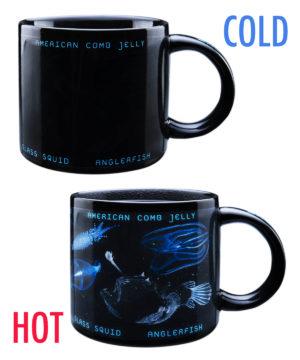 Bioluminescence Heat Change Mug #mug