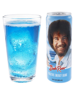 Bob Ross Positive Energy Drink