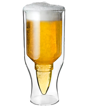 .50 Caliber Beer Glass