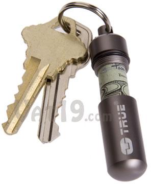 Cash Stash Keychain Capsule