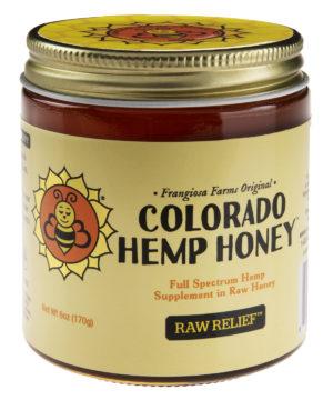 CBD Raw Honey: All-natural honey with hemp supplement