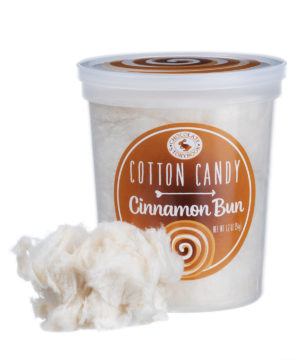 Cinnamon Bun Cotton Candy