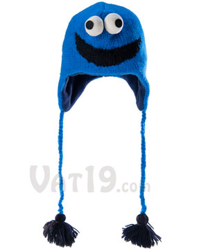 54e88c8cbfbb4 Sesame Street Knitted Hats and Mittens for Adults