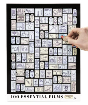 Essential Film Scratch Off Chart