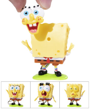 Face-Swapping SpongeBob Keychain