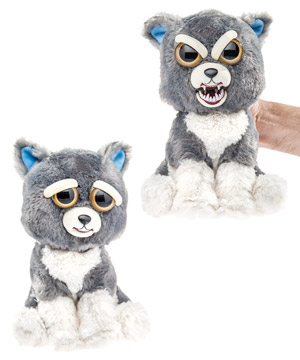 Feisty Pets Stuffed Animals That Change From Awwww To Ahhhhh
