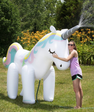 Giant Unicorn Sprinkler