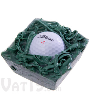 In the Rough Golf Ball Soap