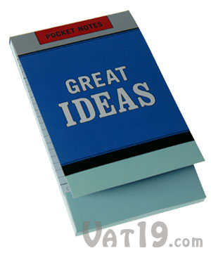 Great Ideas Notebook