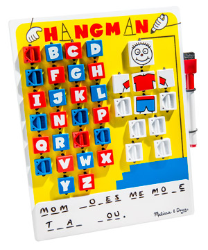 Hangman Wooden Travel Game