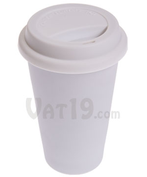 I Am Not A Paper Cup Ceramic Travel Mug That Looks Disposable But It S