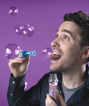 Lick-a-Bubble Edible Bubbles