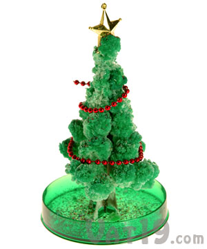 Magical Growing Christmas Tree Watch It Grow In Six Hours - Magic Christmas Tree