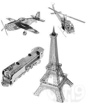 Metal Works Laser Cut Models