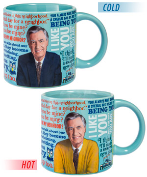 Mister Rogers Sweater Changing Mug #mug
