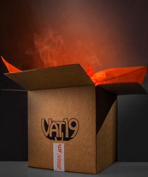 the mysterious box of mystery surprise curated selection of vat19