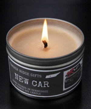 New Car Candle