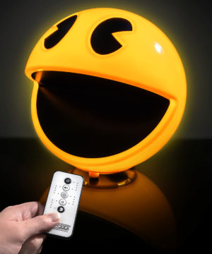 pac man lamp with arcade sound effects
